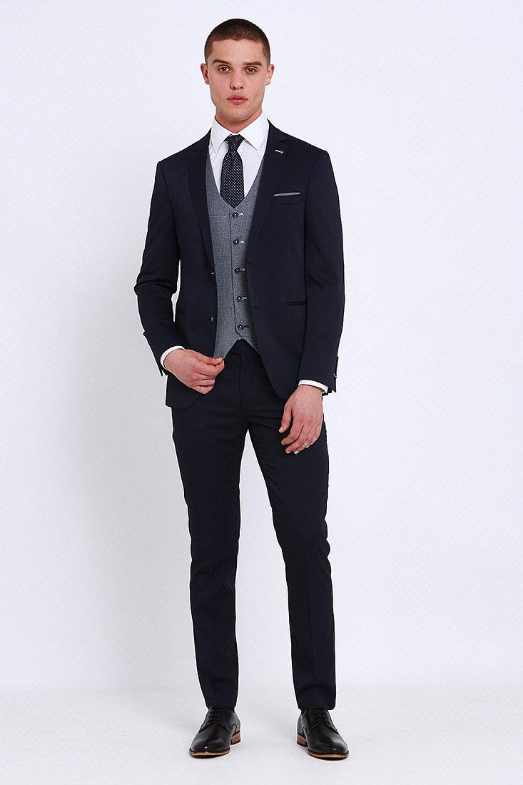 Louis Suit in Navy