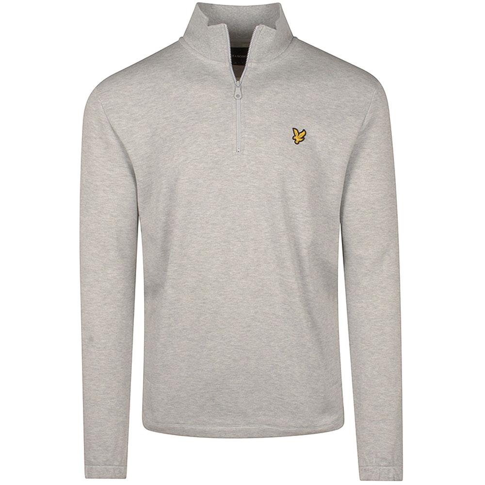 Pique Sweatshirt in Grey