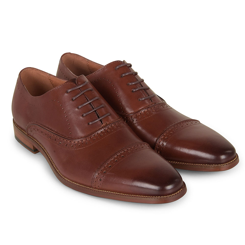 Gary Shoe in Brown