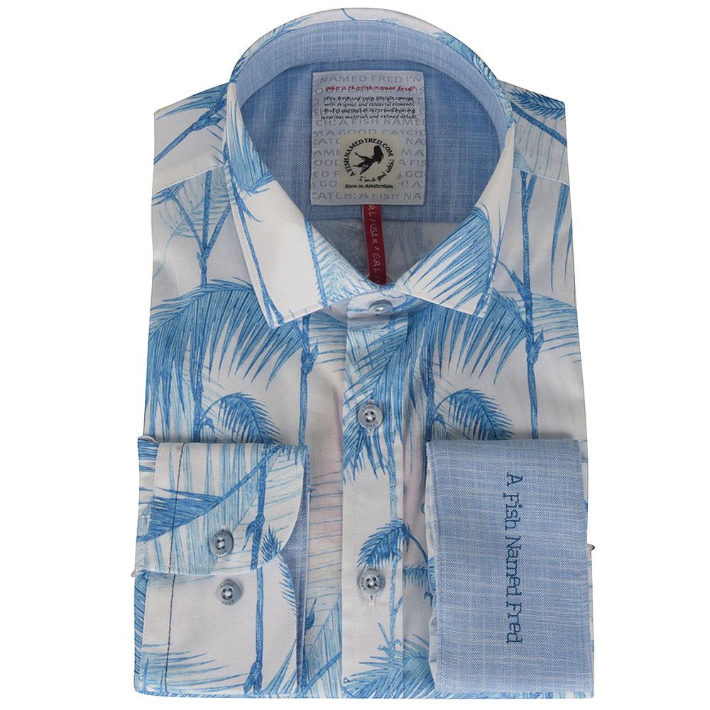 Bamboo Blue Shirt in Blue