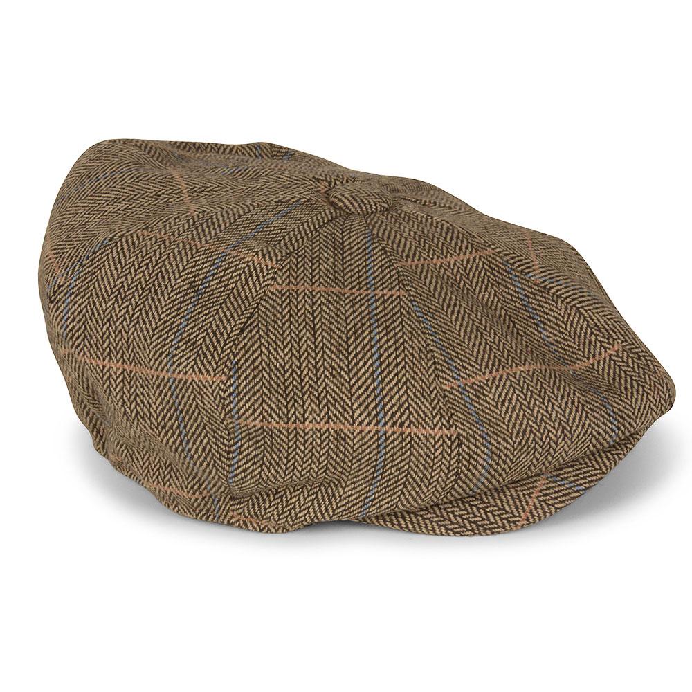 Albert Flat Cap in Brown
