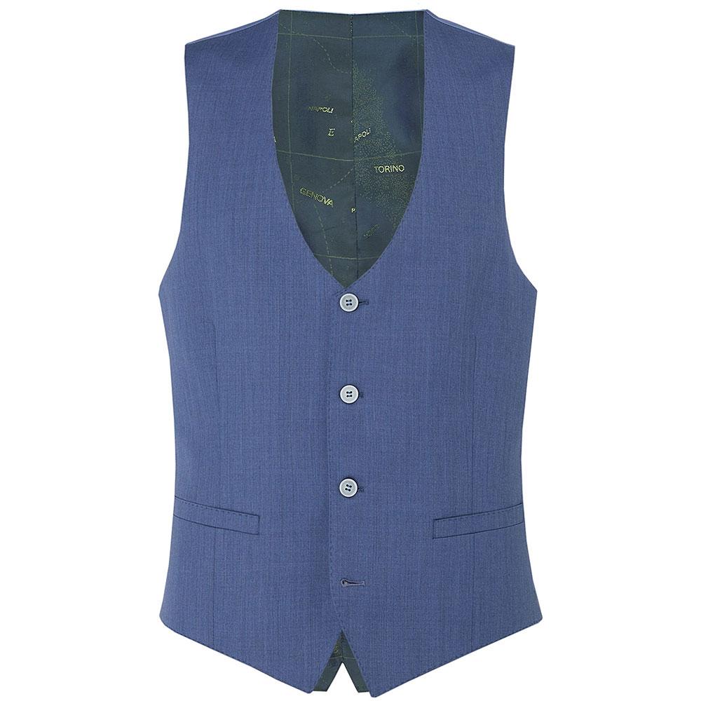 Remus Waistcoat in Blue