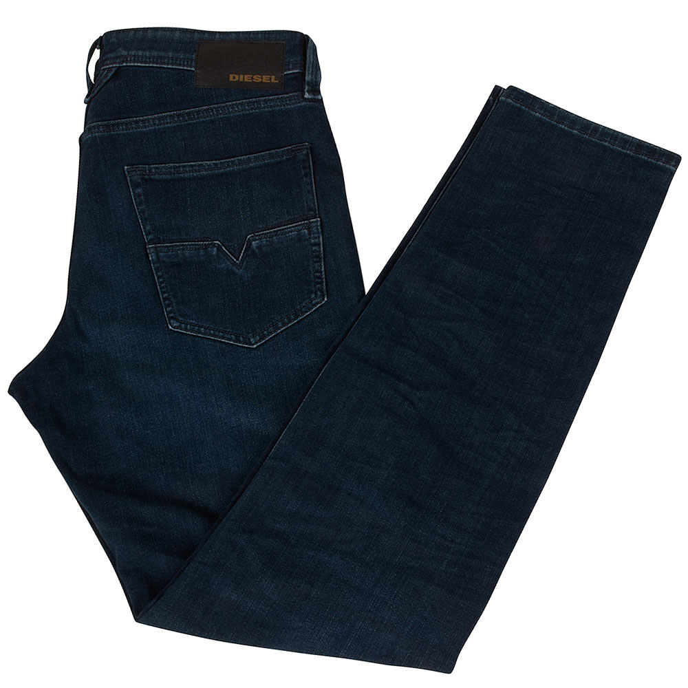 Larkee-Bee Tapered Jean in Mid Stn