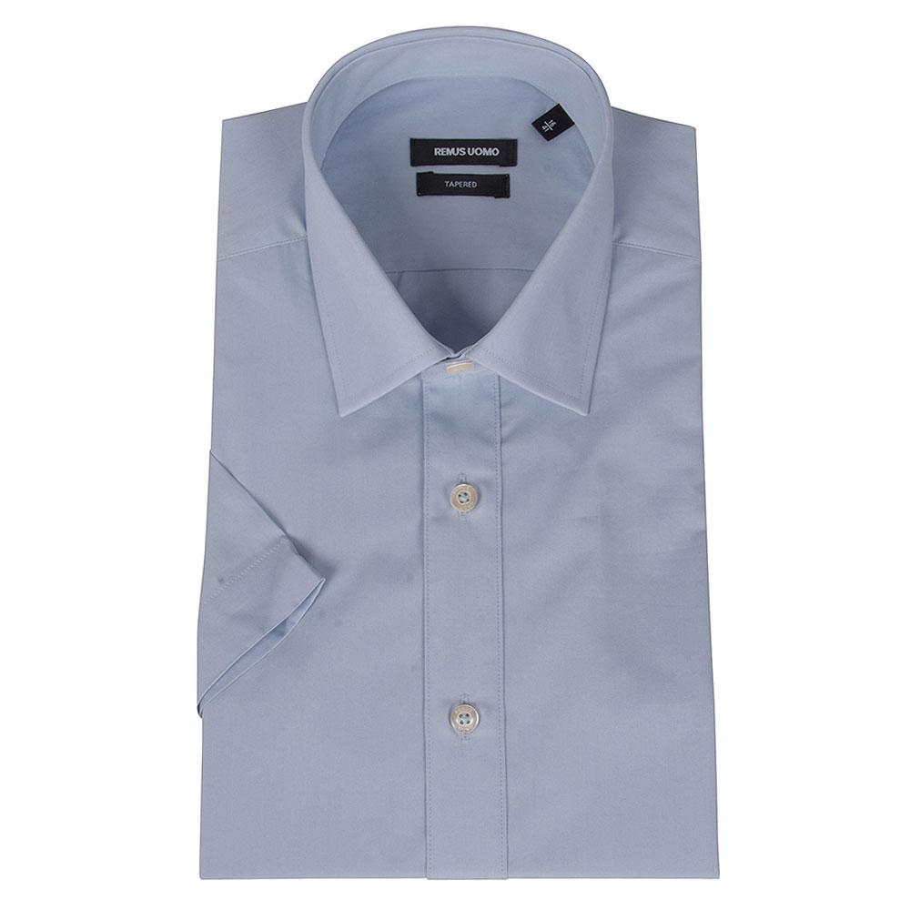 Seville Half Sleeve Shirt in Blue