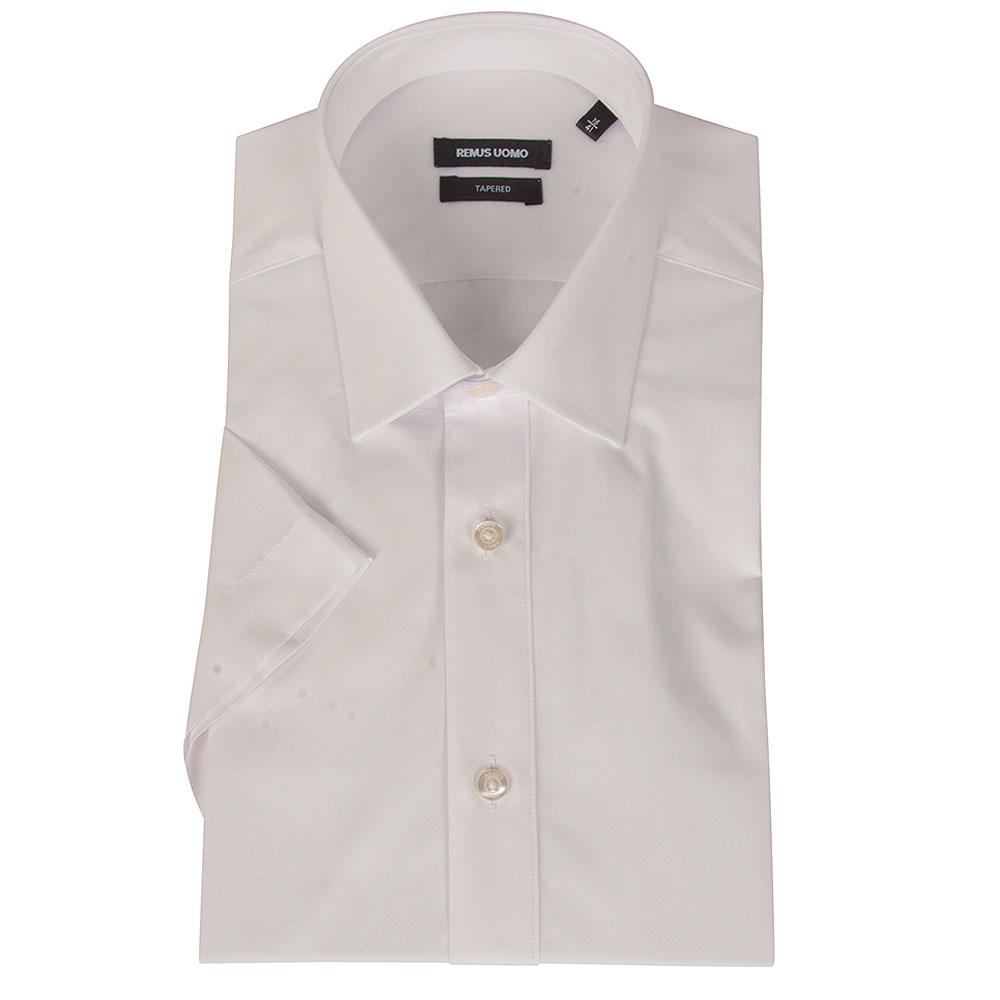 Seville Half Sleeve Shirt in White