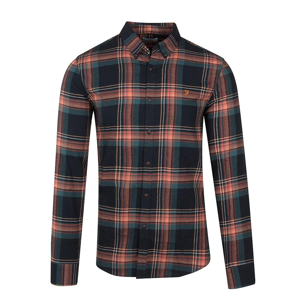 Butterfield Check Shirt in Green