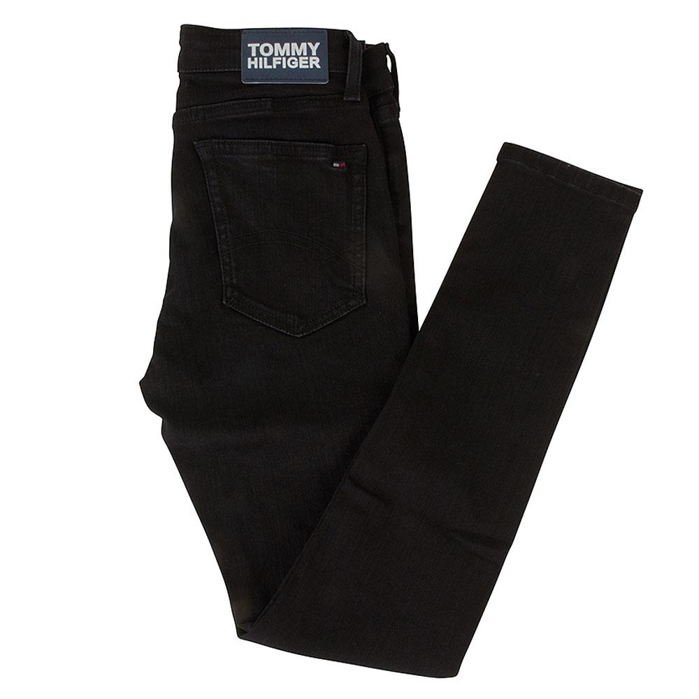 Simon Super Skinny Jeans in Black