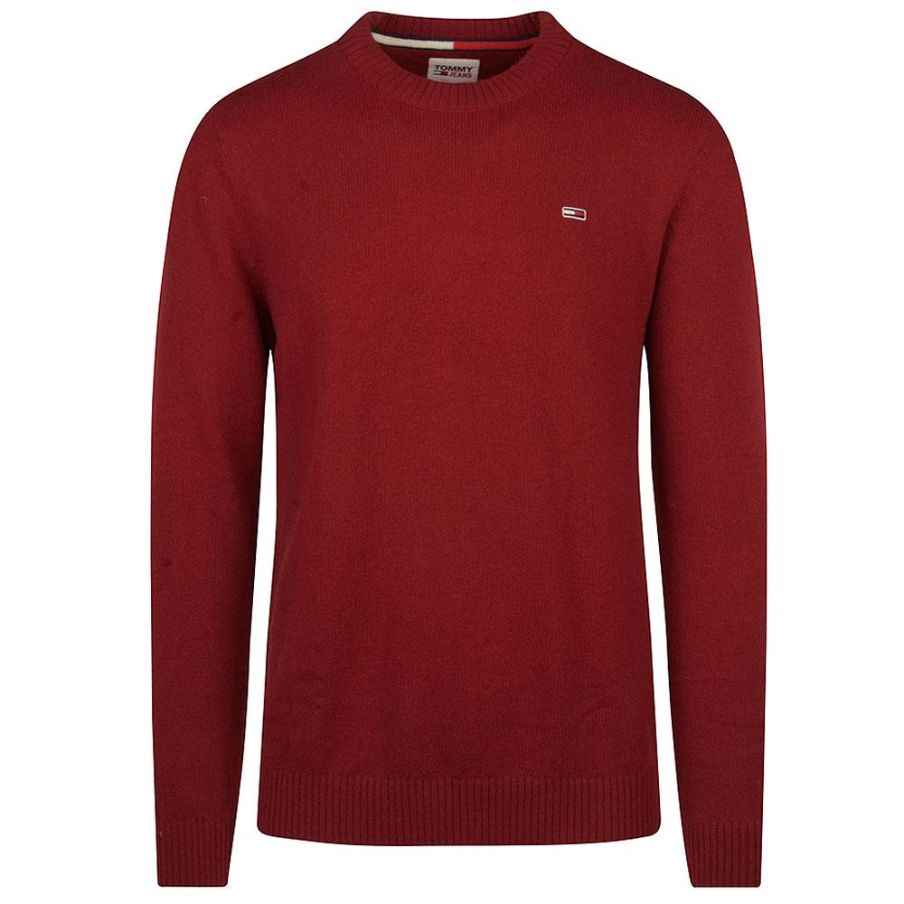 TJM LIght Blend Knitwear in Red