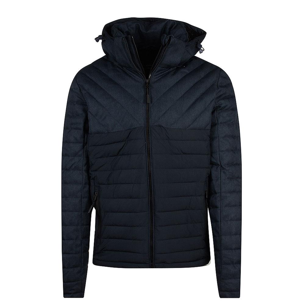 Tweed Fuji Jacket in Navy
