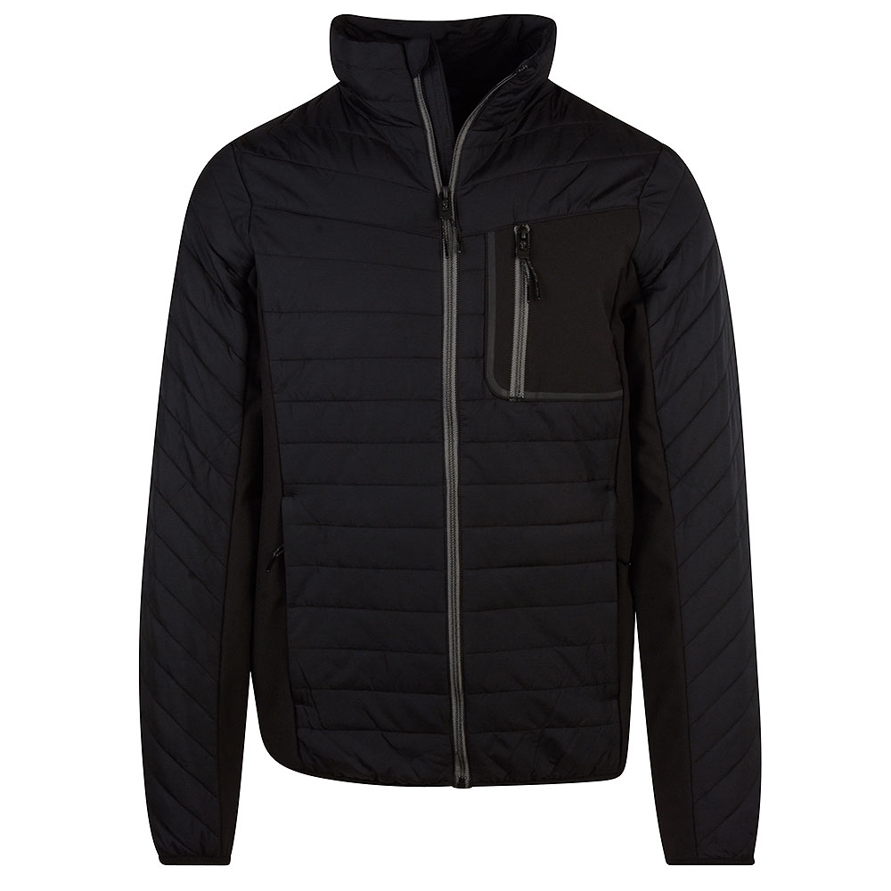 Convection Hybrid Jacket in Black