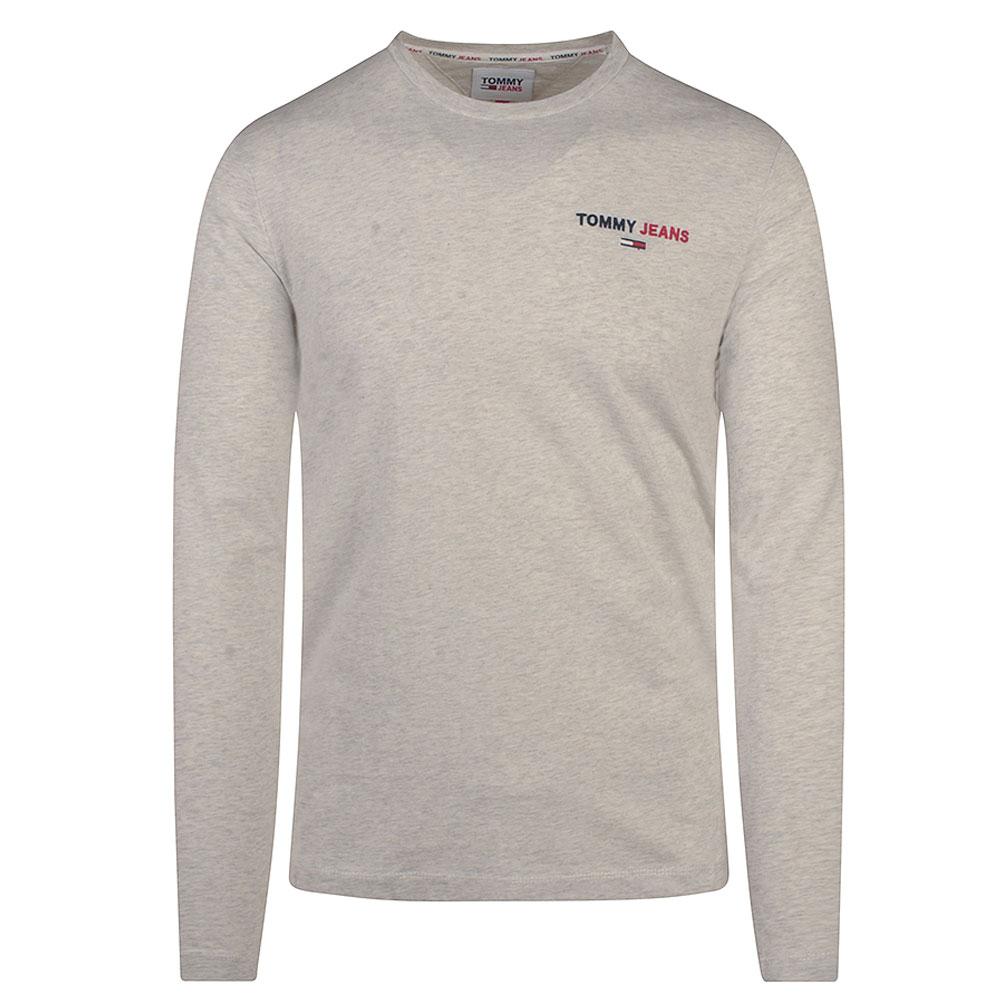 TJM Long Sleeve T-Shirt in Grey