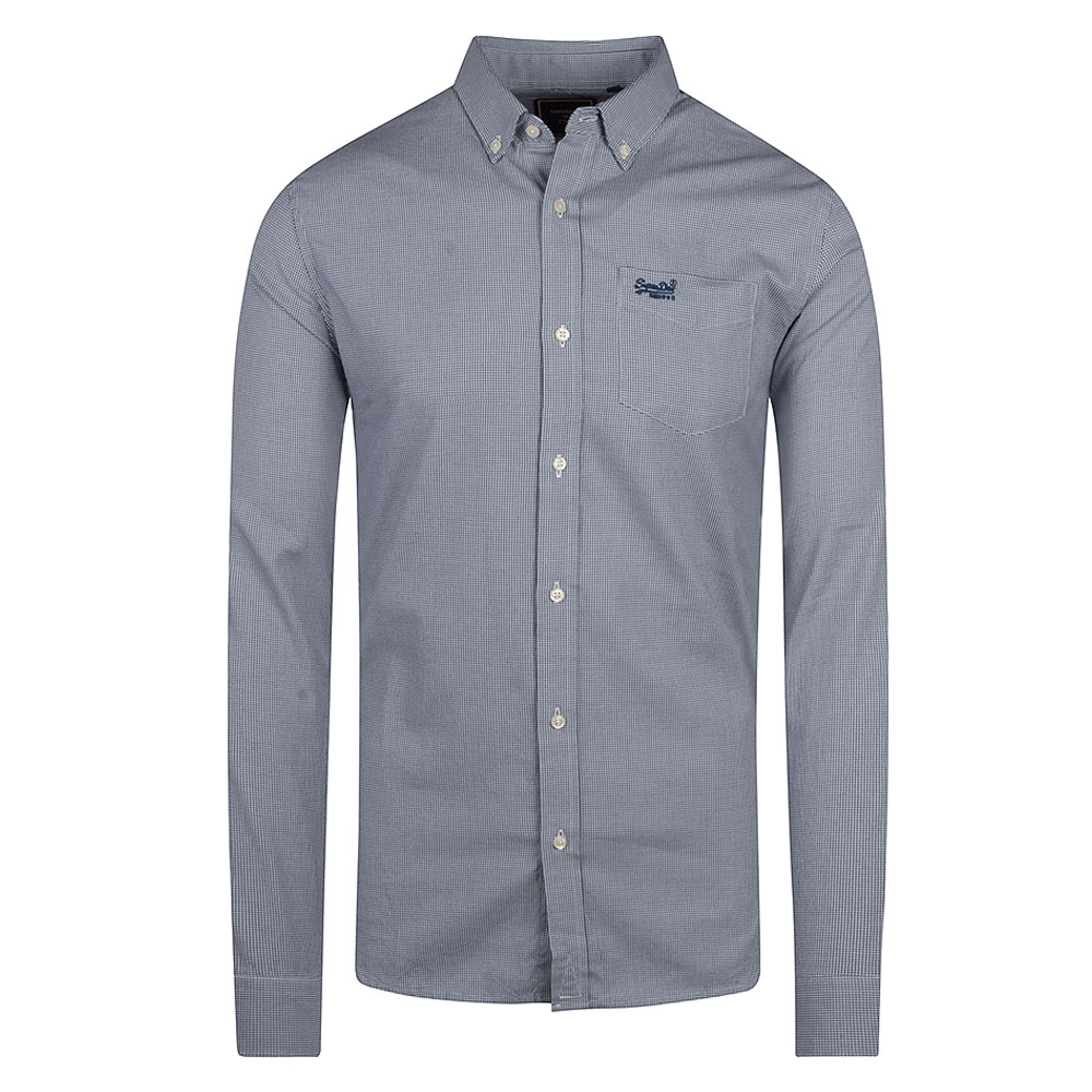 Classic University Oxford Shirt in Blue