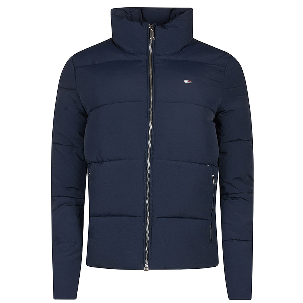 Womens Puffer Jacket in Navy