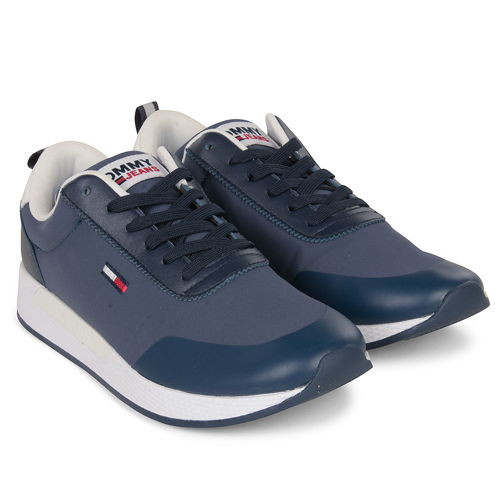 Flexi Mix Sneaker in Navy