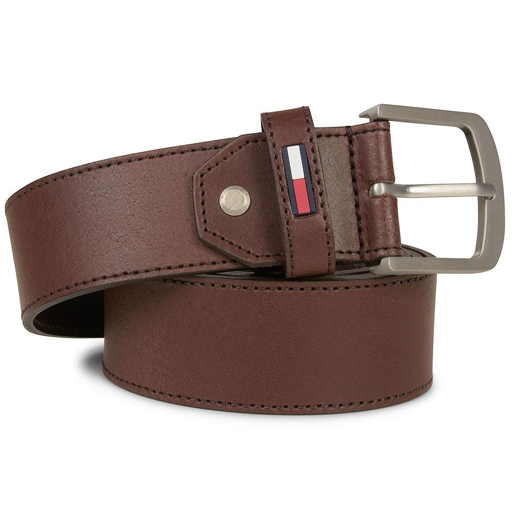 TJM Rubber Inlay Belt in Tan