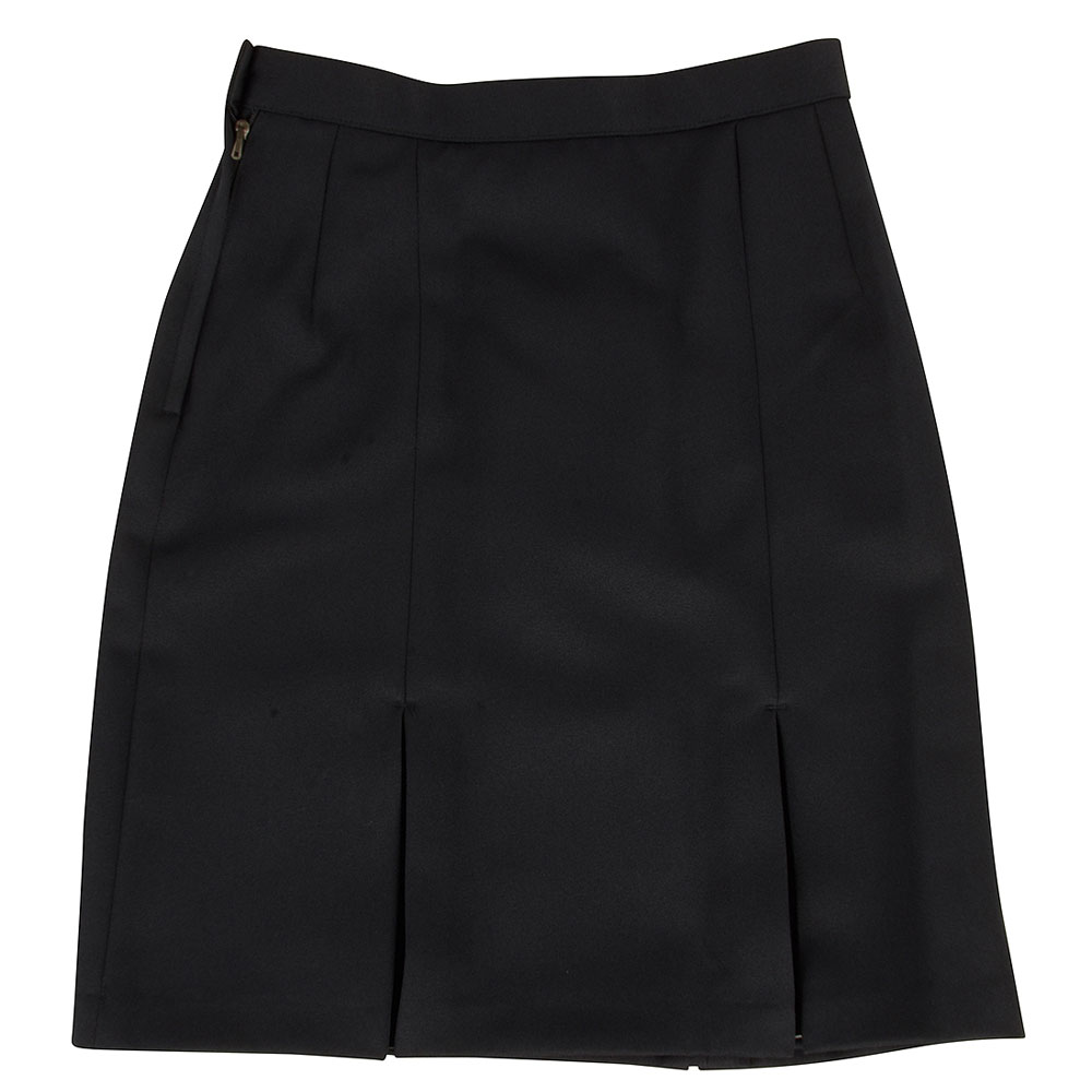 St Genevieves Plain Skirt in Navy