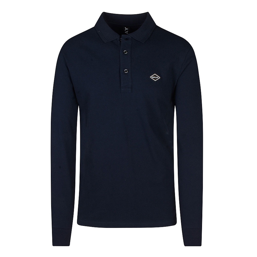 Replay Polo in Navy