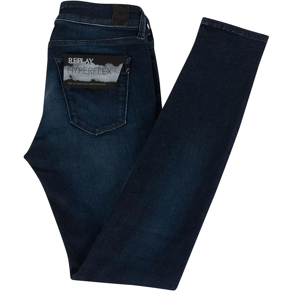 Luz Womens Jeans in Indigo