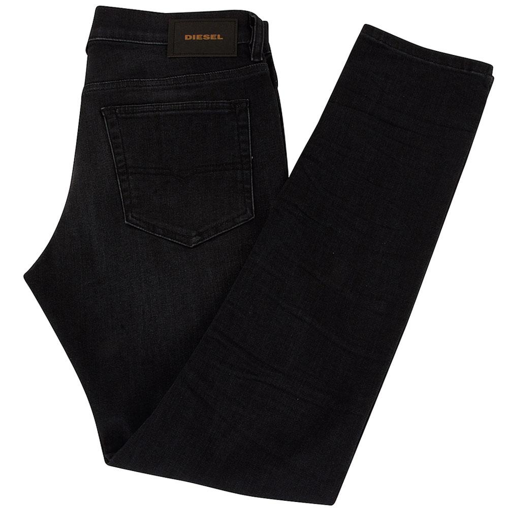 D-Luster Slim Fitting Jean in Black