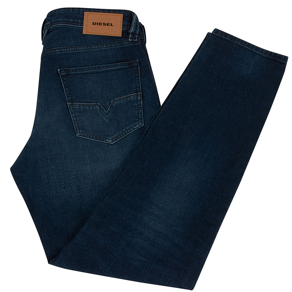 Larkee Beex Tapered Jean in Mid Stn