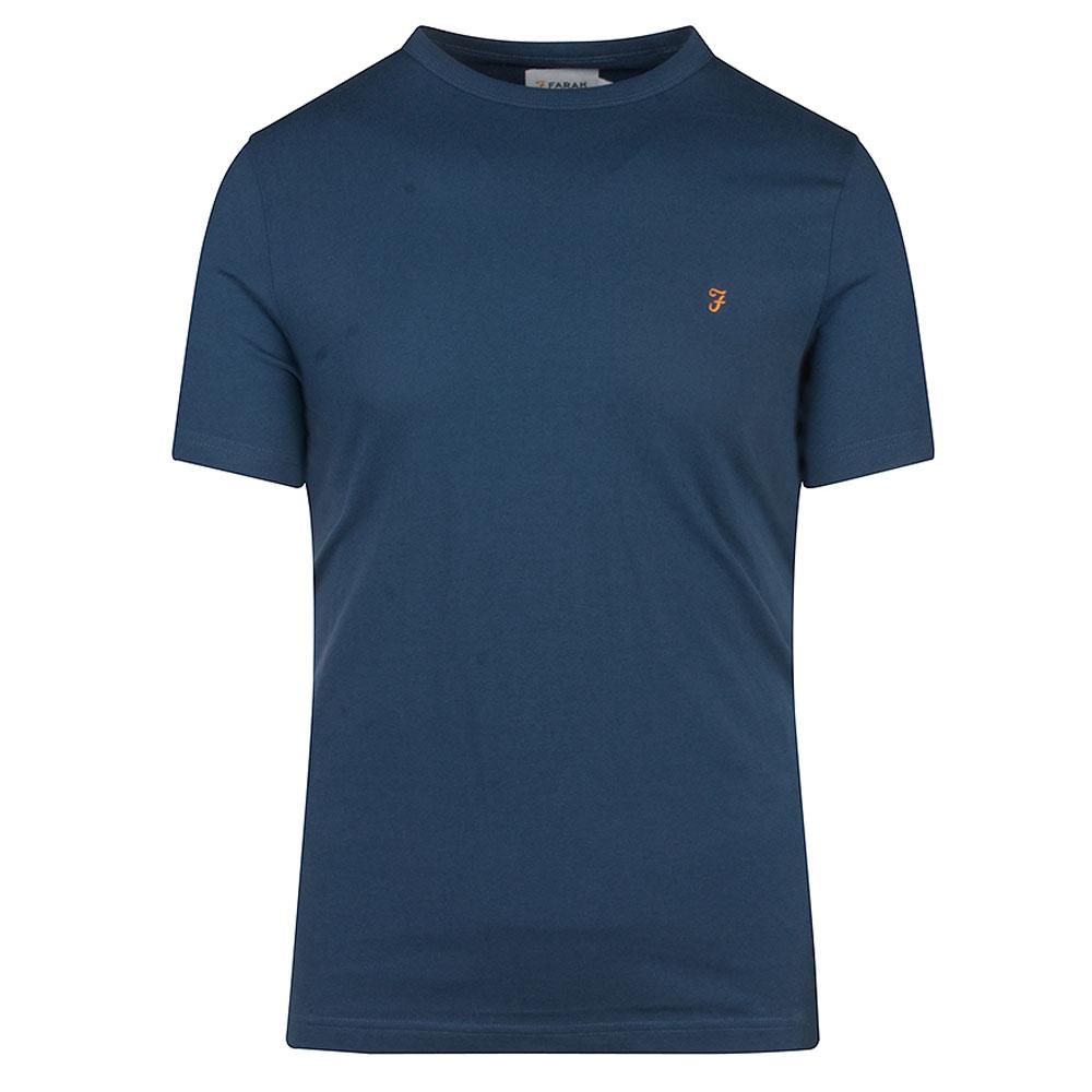 Danny SS T-Shirt in Indigo