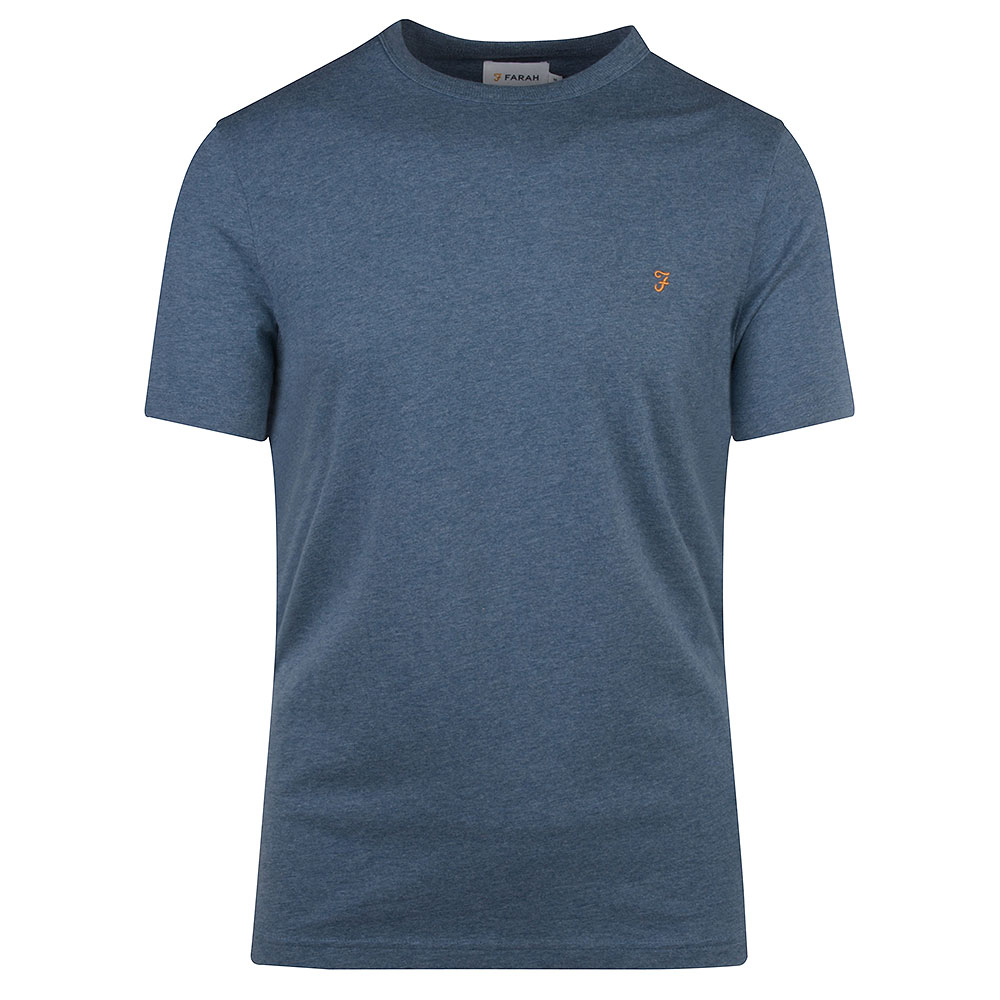Danny SS T-Shirt in Blue