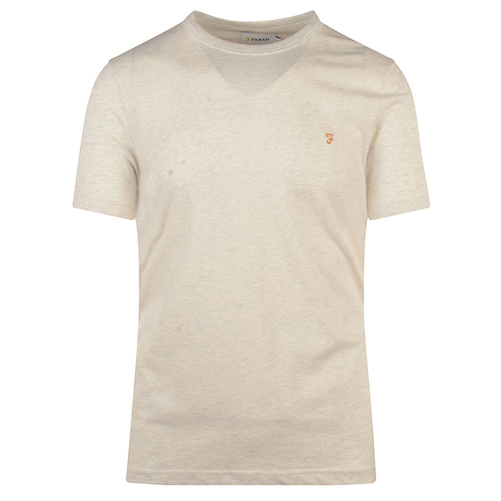 Danny SS T-Shirt in Stone