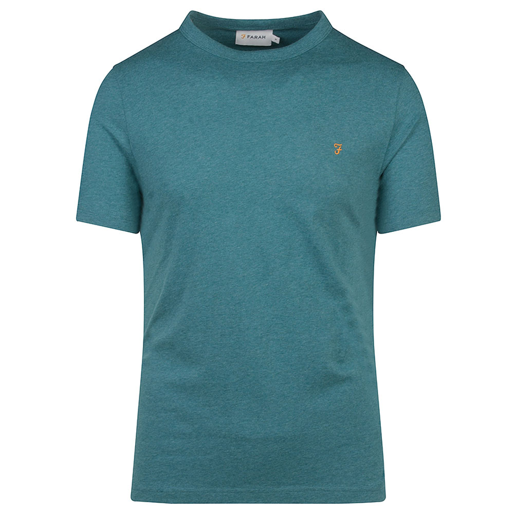 Danny SS T-Shirt in Turquoise