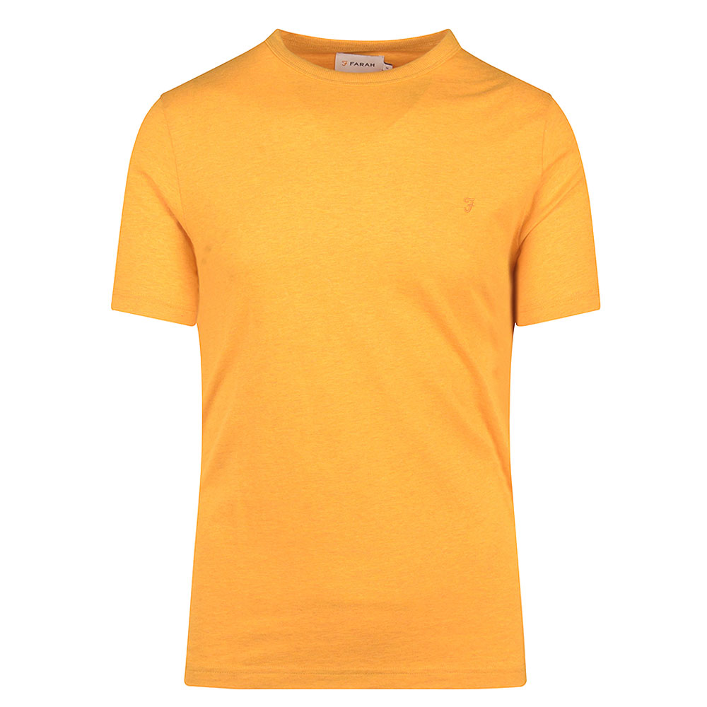 Danny SS T-Shirt in Yellow