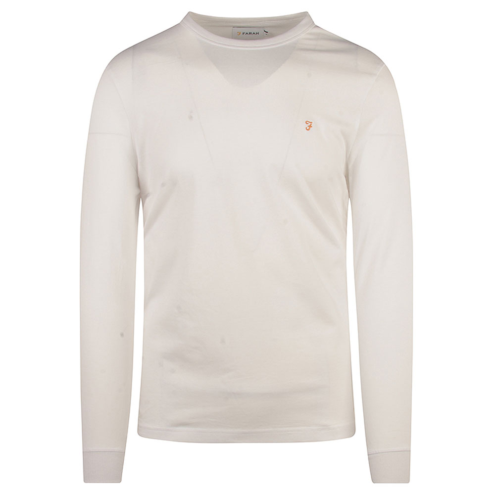 Worthington LS T-Shirt in White