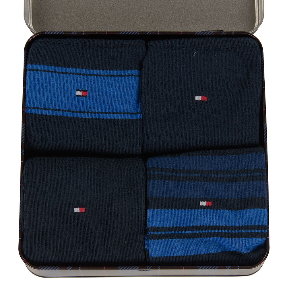 Tommy Hilfiger Gift Box Sock Collection in Navy