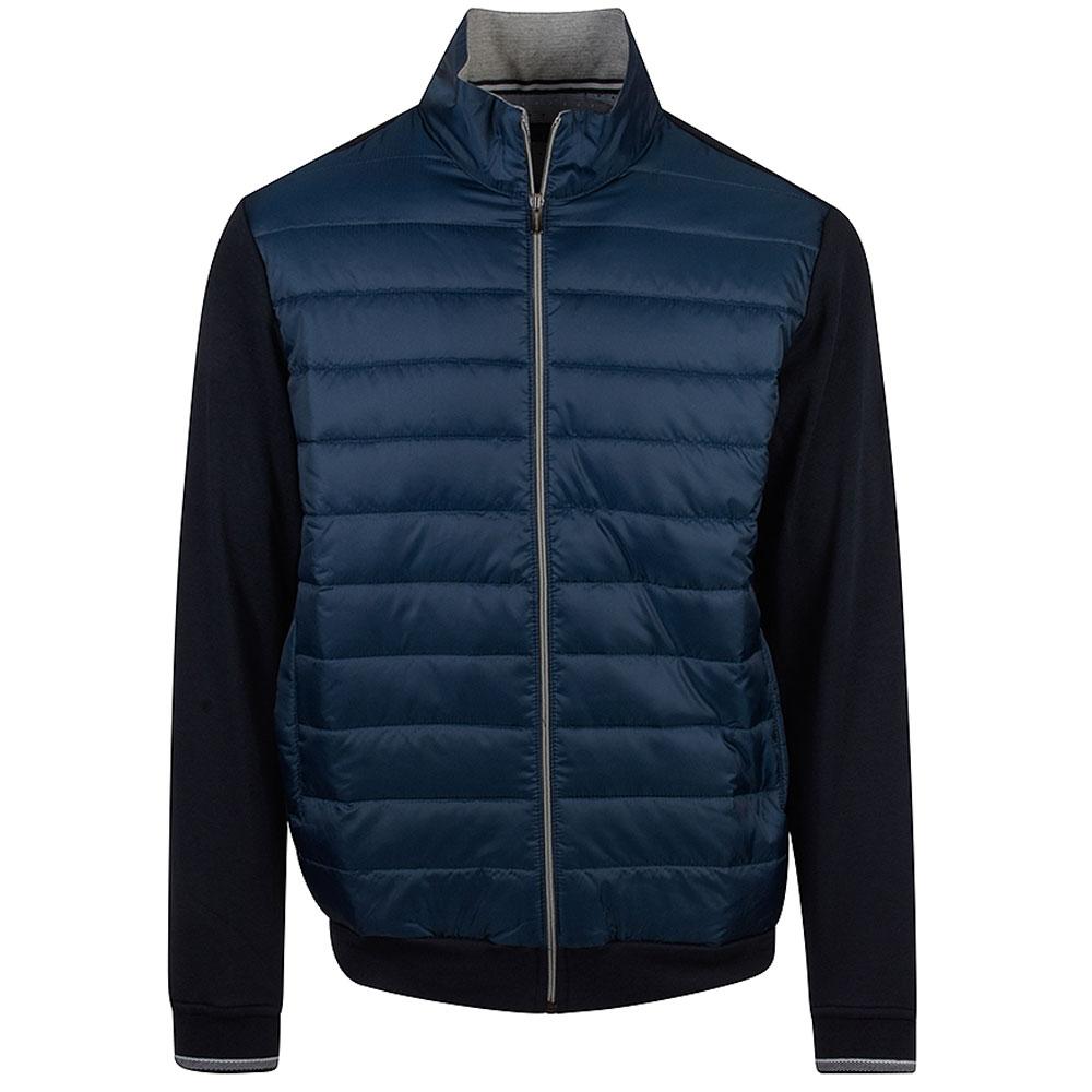 Cory Zip Jacket in Blue