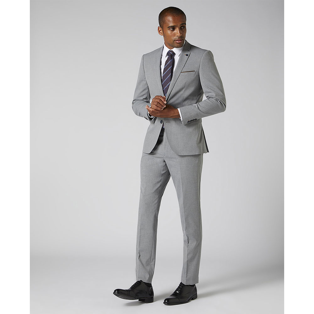 Lanzo Suit in Lt Grey
