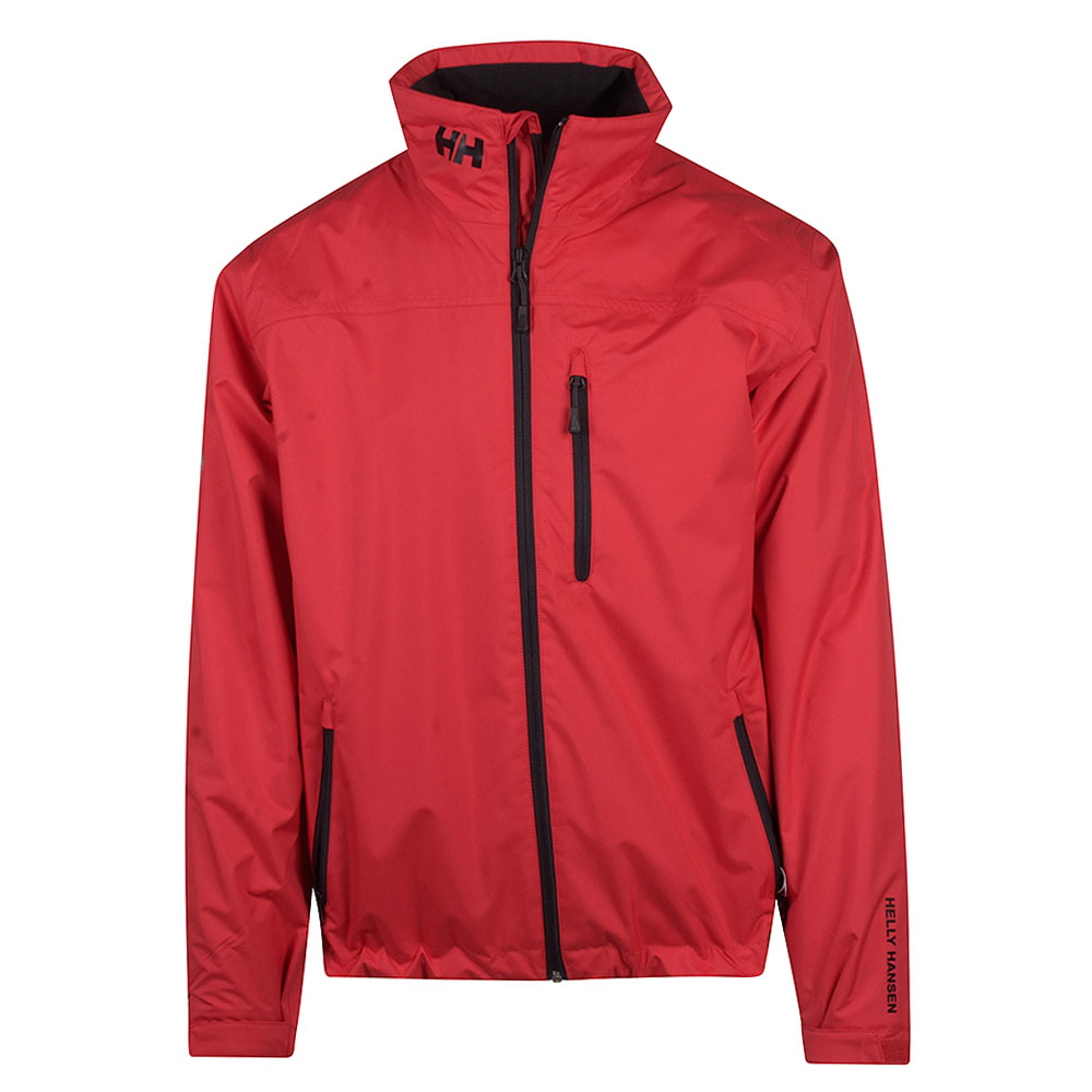 Crew Mid Layer Jacket in Red