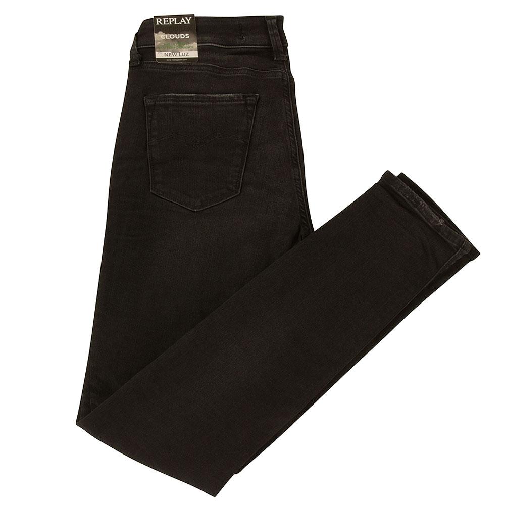 Luz Hyperflex Skinny Jean in Black