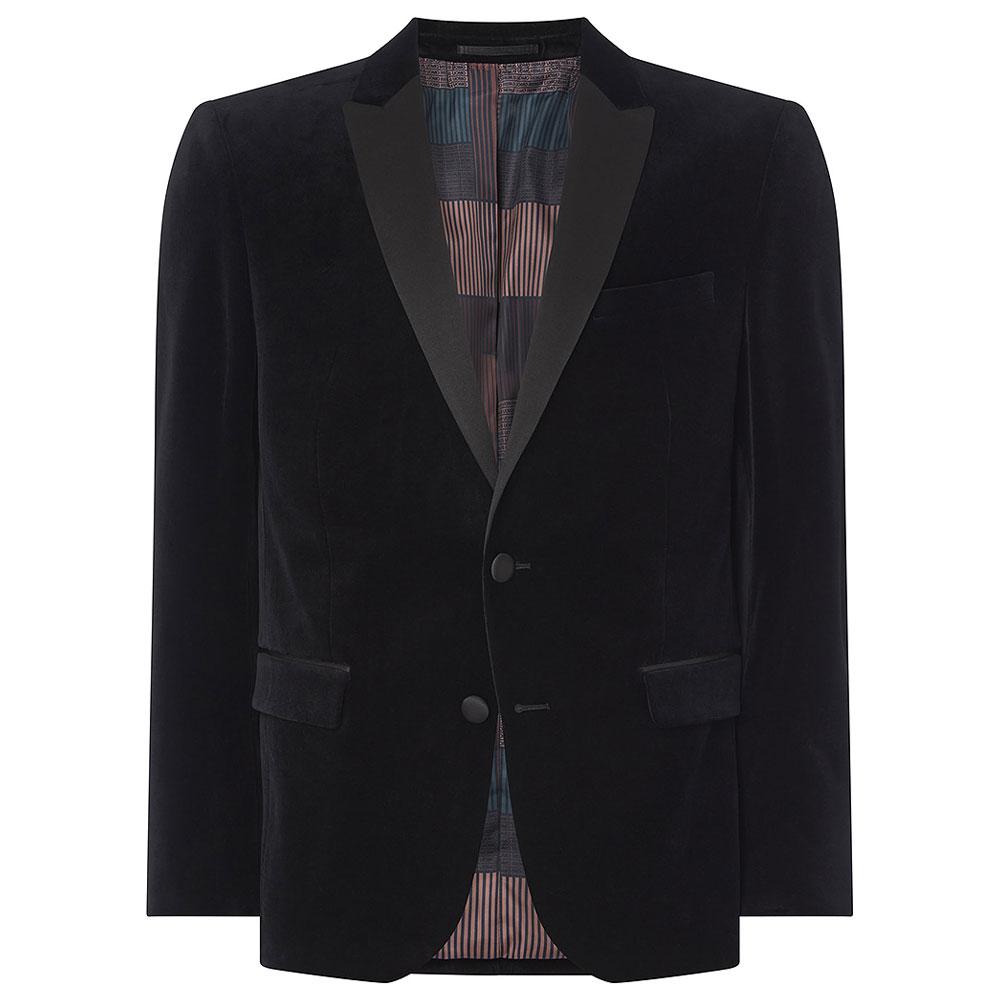 Minti-V Jacket in Black
