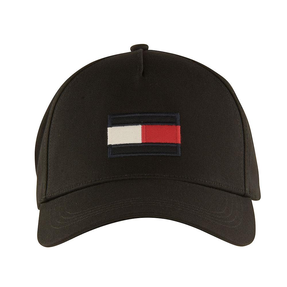 Big Flag Baseball Cap in Black