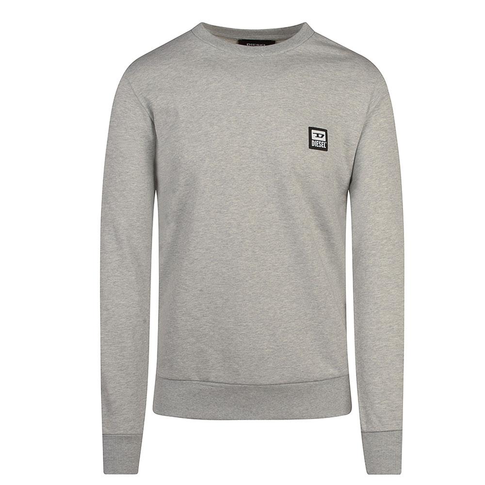S-Girk Sweat Shirt in Lt Grey