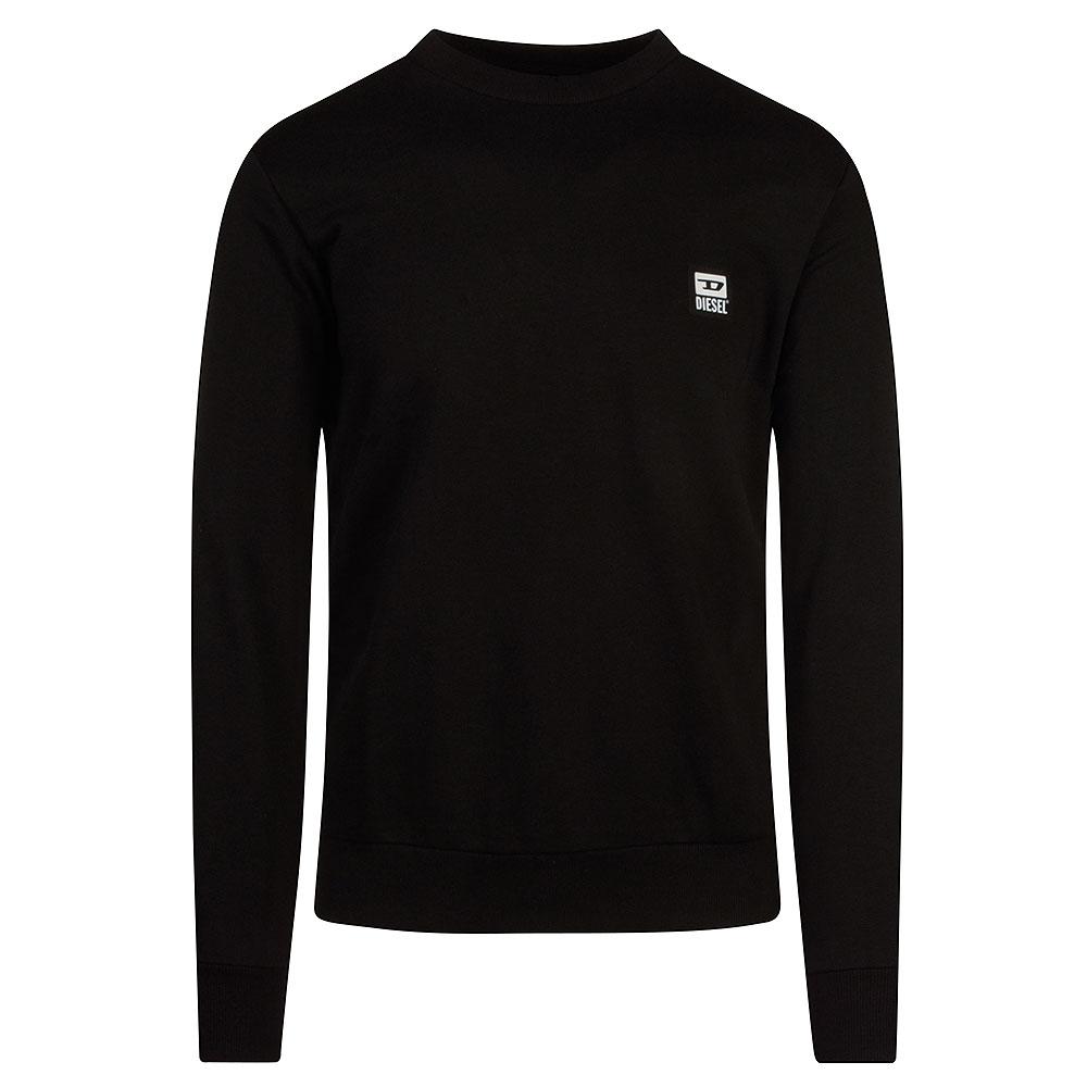 S-Girk Sweat Shirt in Black