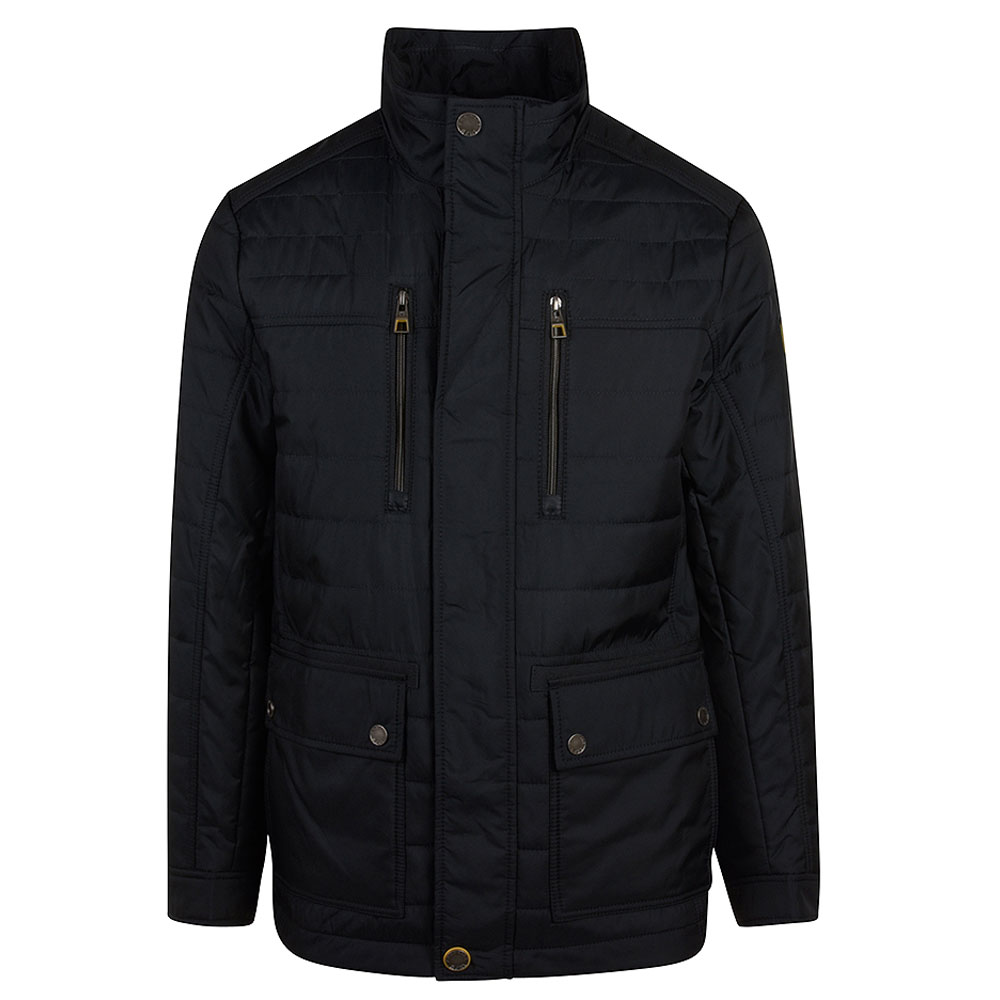 Ridely Padded Jacket in Navy