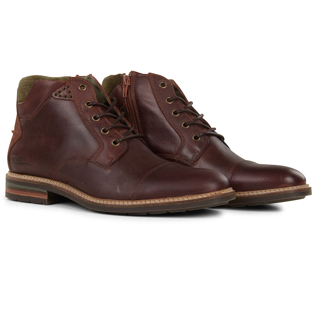 Clarkson Ankle Boot in Tan