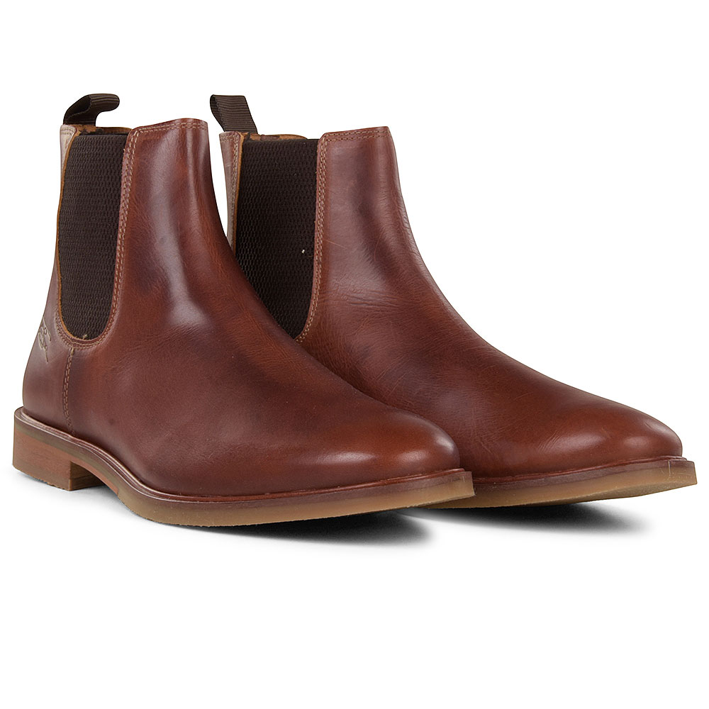 Booth Chelsea Ankle Boot in Tan