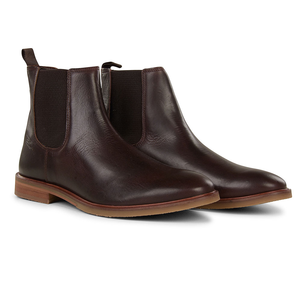 Booth Chelsea Ankle Boot in Brown
