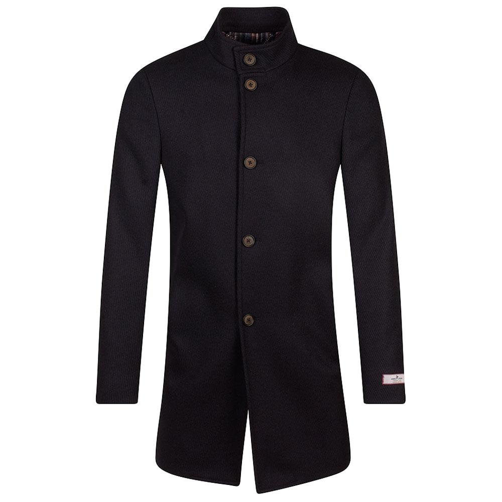Mayfiar Overcoat in Burgundy