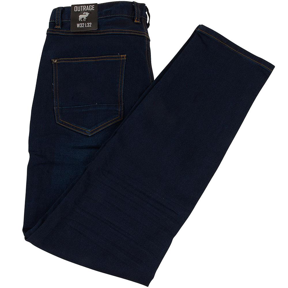 Abbot Slim Jean in Blue