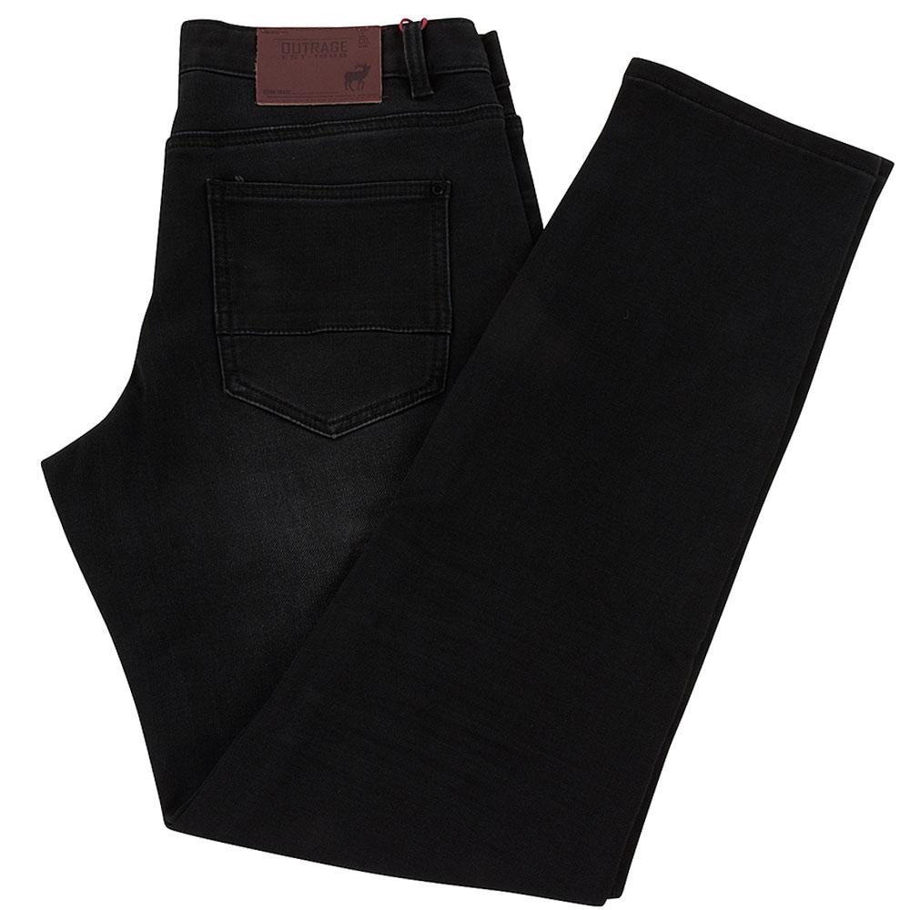 Roan Slim Jean in Black