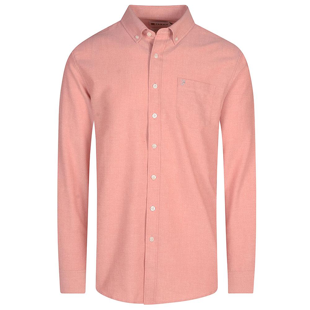 Drayton Shirt in Rust