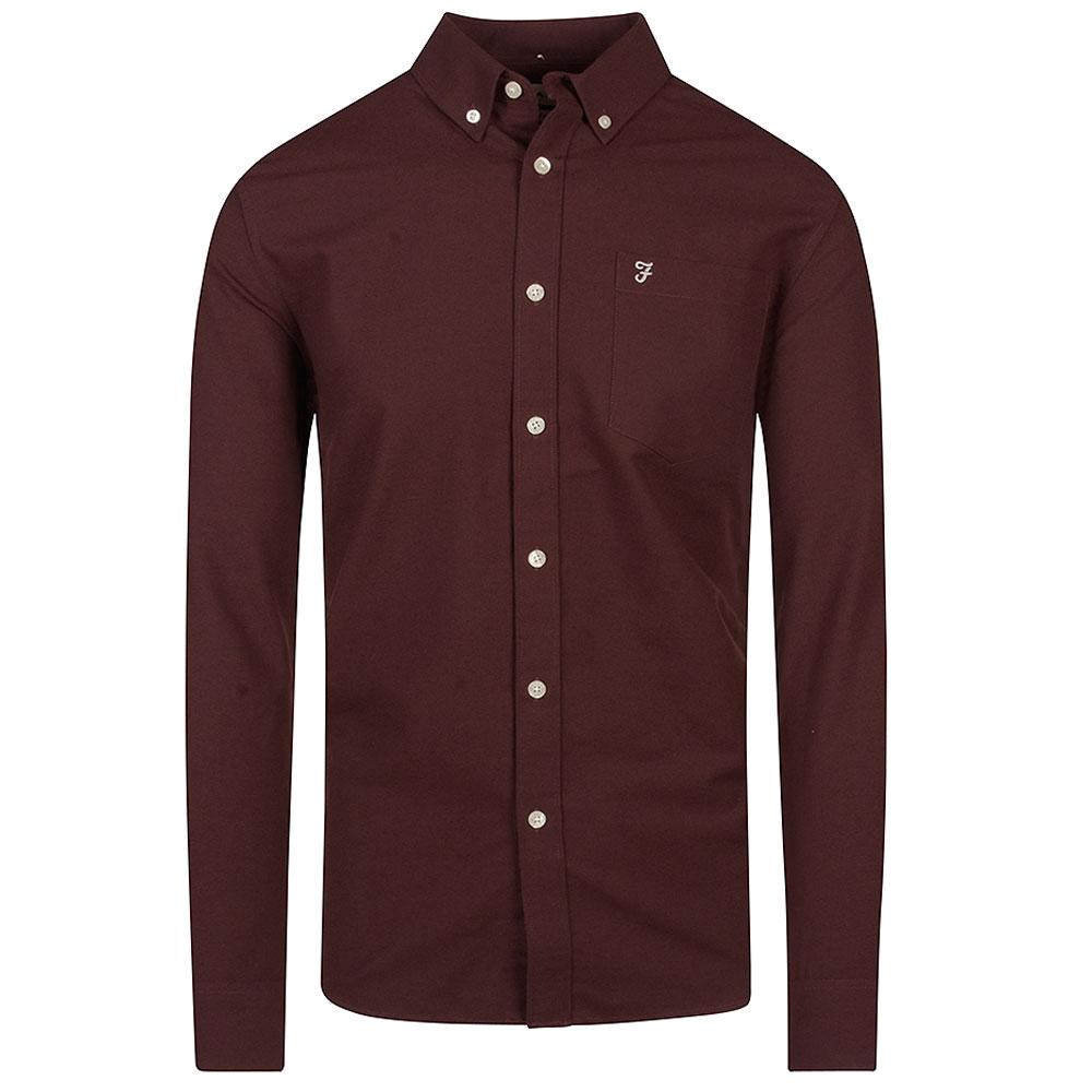 Drayton Shirt in Burgundy