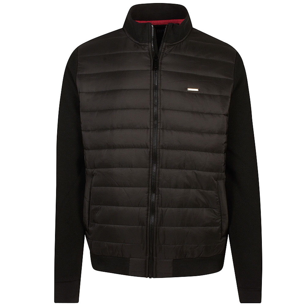 Gavin Zip Jacket in Black