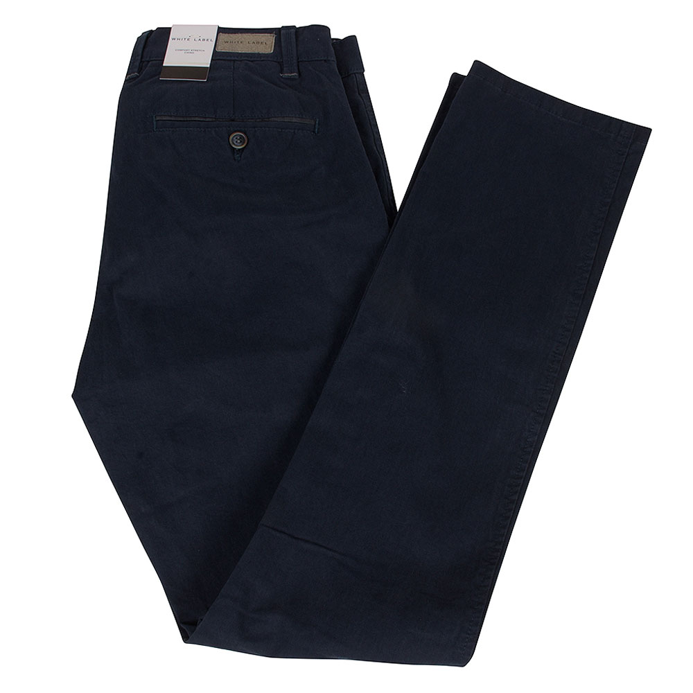 White Label Chino in Navy